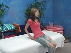 Lovely miniature hottie appreciates skillful massage and hard fuck