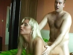 Perverted dude  sells her Russian girlfriend to roger for money