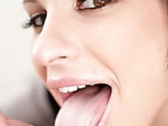 Gioia has never seen a cock too large for a blowjob