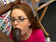 Kinky teacher examines girl's fuckholes instead of her tests