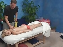 Blond nymph becomes absolutely in nature's garb with the addition of then lies on massage table. That Hottie just wants to be massaged but then her craves change when that babe sees the attractive masseur. Watch what they are rendition in this scene.